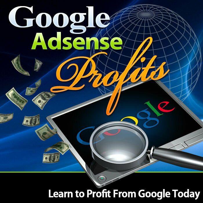 Google Adsense Profits Ebook Google Adsense Adsense Google Today