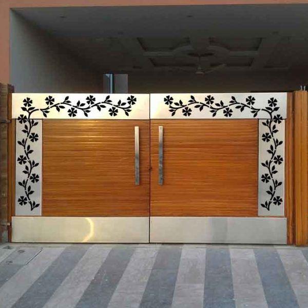 Cnc Plasma Makerbhawan In 2020 Main Gate Design Front Gate Design Gate Designs Modern