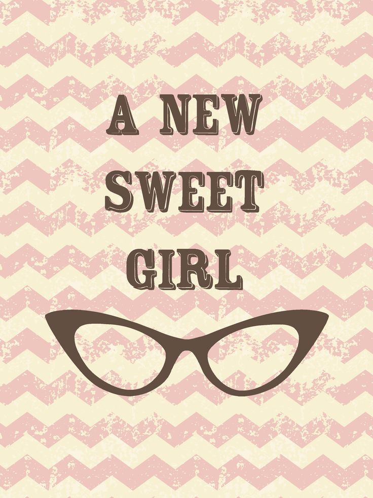 A new sweet girl