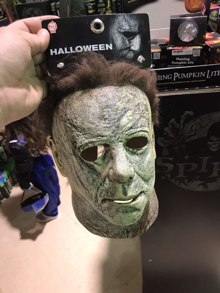 Michael Myers Halloween 2018 Mask Trick or Treat Studios