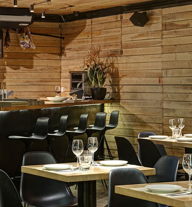 our Lottus stools by Enea at Scala Vinoteca restaurant in Athens