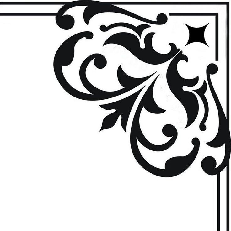 M s de 25 ideas fant sticas sobre plantillas decorativas - Plantillas decorativas pared ...