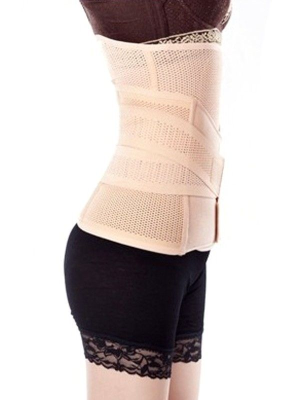 Post Natal Waist Toner Abdominal Binder Support Slimming Stomach Tummy Belt