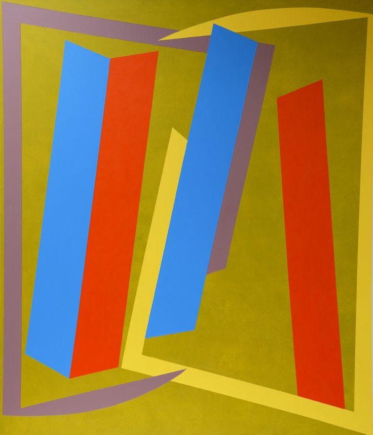 Vanessa Jackson, Look on the Bright Side, 2014, Oil on canvas, 213 x 183 cm