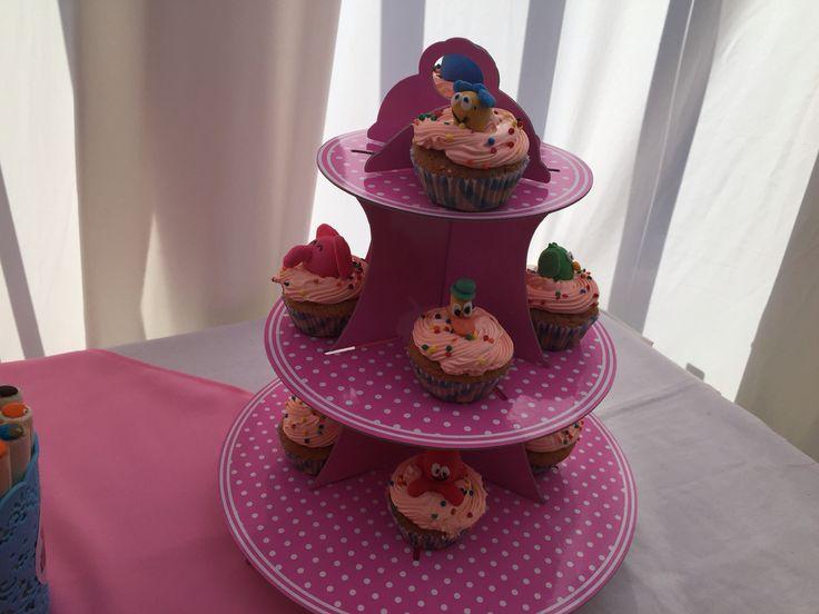 Cupcakes pocoyo