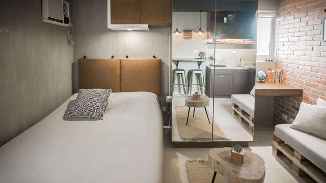 Floor Plan Interior Design For 22 Sqm House Condo Interior