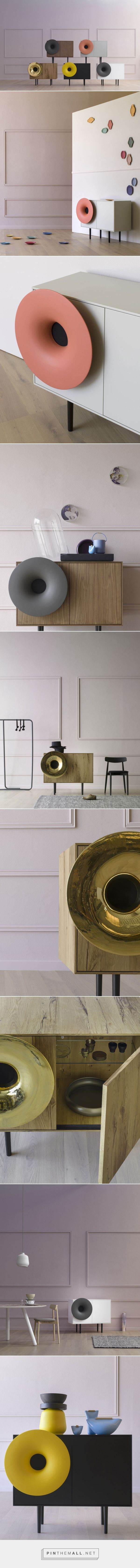 A Cabinet with A Bluetooth Speaker - Design Milk - created via https://pinthemall.net