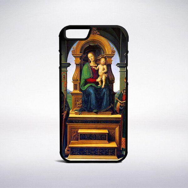 Pietro Perugino - Madonna And Child With Saints Phone Case – Muse Phone Cases