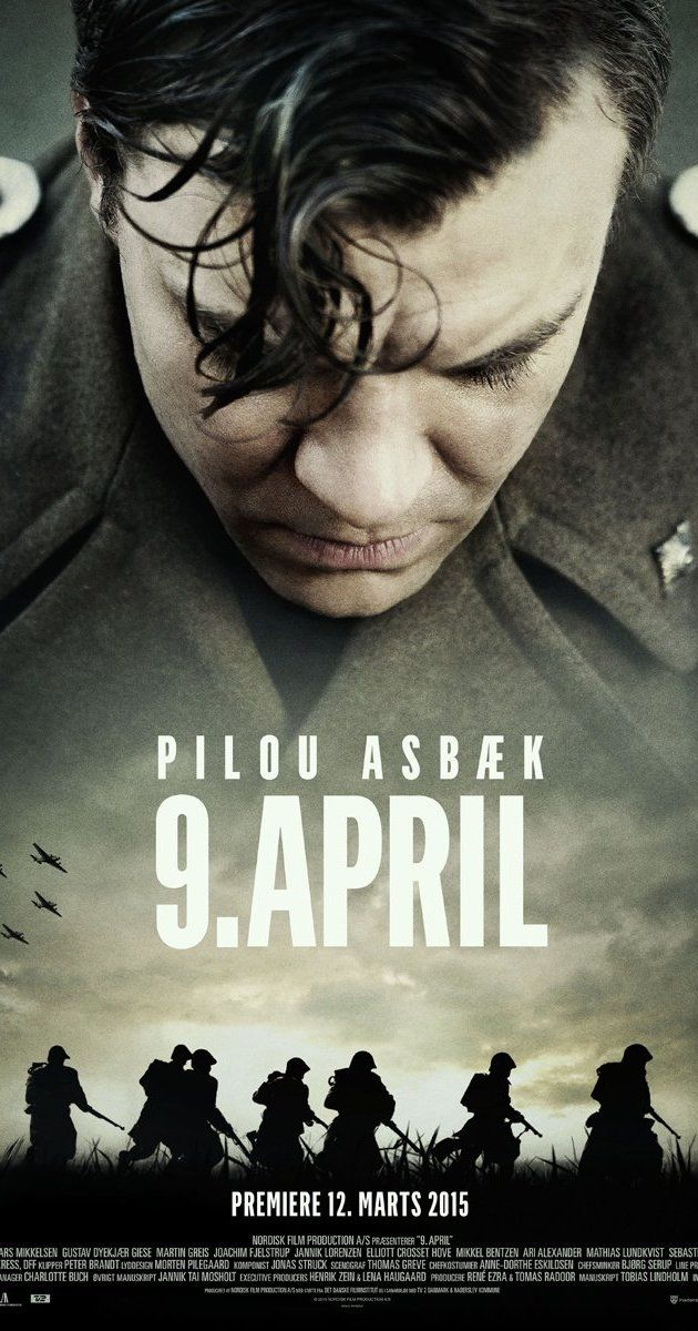 Directed by Roni Ezra.  With Pilou Asbæk, Lars Mikkelsen, Simon Sears, Gustav Dyekjær Giese. In the early morning of April 9th 1940 the Danish army is alerted. The Germans have crossed the border; Denmark is at war against Europe's strongest army. In Southern Jutland Danish bicycle- and motorcycle companies are ordered out, to against all odds, hold back the forces until the Danish reinforcements can be mobilized. In the fatal hours, we follow second lieutenant Sand (Pilou Asbæk) and his....