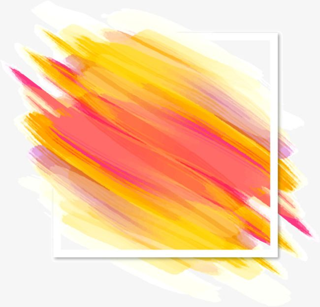 Vector Decorative Background Shading Color Brush Strokes Brush