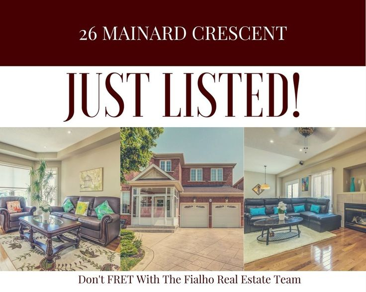 ***JUST LISTED*** Welcome to 26 Mainard Cres in Brampton! Look No Further Because This Stunning Home Could Be Yours! Upgrades Throughout, Inside and Out! Whether You Are Want to Share Quality Family Time in Your Open Concept Living, Kitchen and Breakfast Area, Have a BBQ W/Friends in Your Beautifully Landscaped Backyard or Just Need Some Relaxation in Your Soaker Tub, This Home Has It All! With Lots of Shopping, Schools and Hwy 410 Minutes Away, You Won't Want To Miss This Opportunity!!!