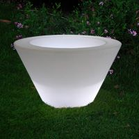 Pots jardin Pot lumineux design X-pot light slide