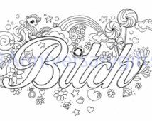 swearing coloring pages  google search  adult colouring