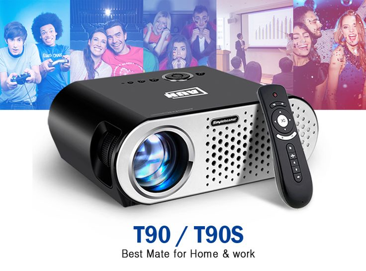 AUN Projector 3200 Lumen T90, 1280*768 (Optional Android Projector with 2.4G Air Mouse, Bluetooth WIFI, Support KODI AC3) LED TV   Read more at Electronic Pro Market : http://www.etproma.com/products/aun-projector-3200-lumen-t90-1280768-optional-android-projector-with-2-4g-air-mouse-bluetooth-wifi-support-kodi-ac3-led-tv/                   T90  (Basic Version)     T90S  (Android Version)                 It is MINI Projector, Easy to build your personal cinema, low noise,