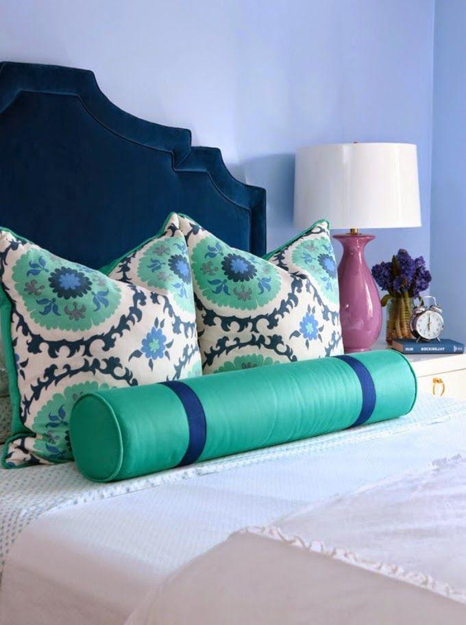 Alisha Gwen Interior Design House Of Turquoise Purple Teal Bedroom Turquoise Bedding