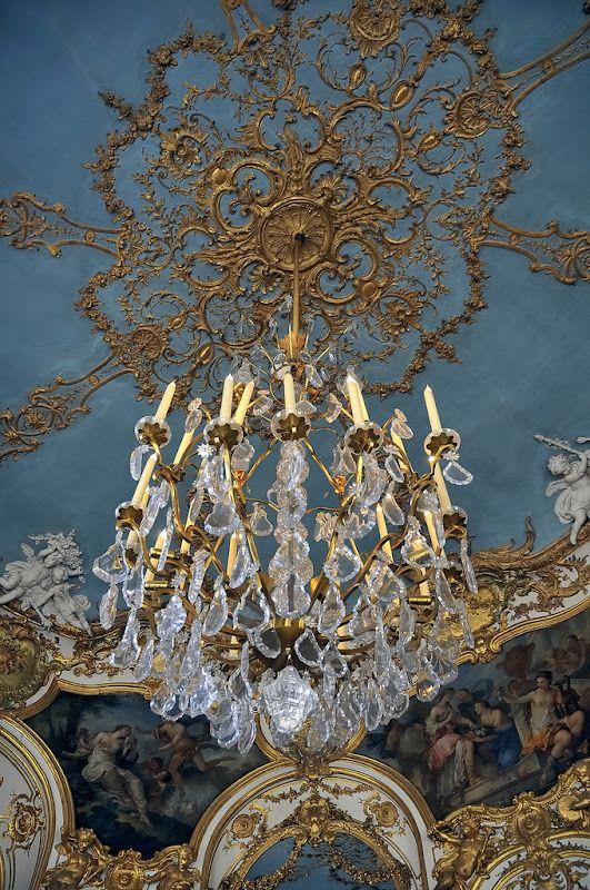 Incredible Rococo detail - Hôtel de Soubise Paris. 1735-40 built for the Prince and Princess de Soubise