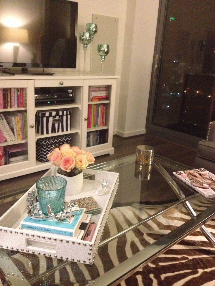 Coffee Table Decor Decorando Com Bandejas Pinterest