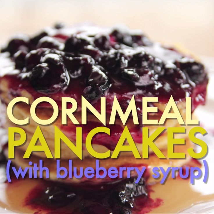 Give your weekend go-to breakfast a bit of a twist with Ree's Cornmeal Pancakes. They are so simple, yet so gratifying.