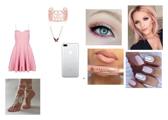 """My OC/Heather Kehlani"" by xolafkax on Polyvore featuring Anastasia Beverly Hills and Boohoo"