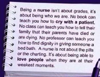 Top 10 Funny & Inspirational Nursing Quotes http://www.nursebuff.com/2014/03/funny-inspirational-nursing-quotes-from-pinterest/