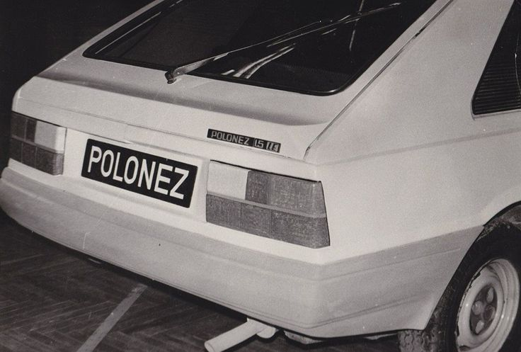 OG | FSO Polonez Caro | Full-size clay mock-up