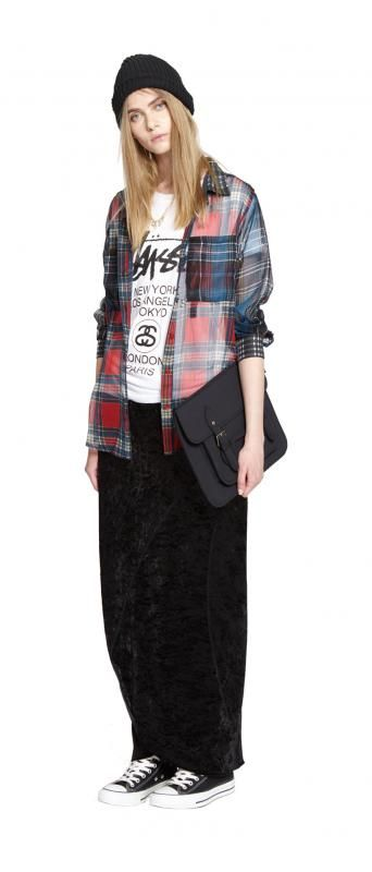 """STUSSY WOMEN FALL & HOLIDAY 2013 COLLECTION """"Born To Be Wild"""""""