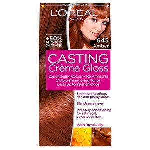 L'Oreal Casting Creme Gloss Amber 645 Desperate to give red hair a go! :))