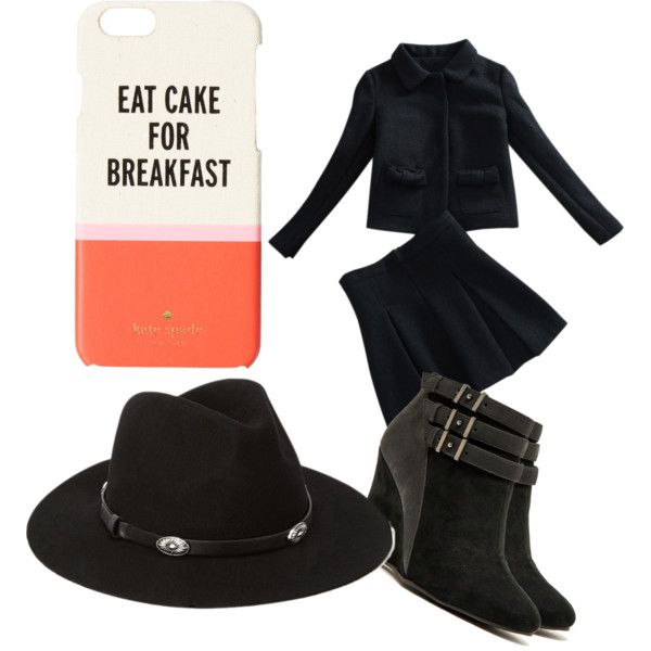 Booty cake by royalty304 on Polyvore featuring polyvore, fashion, style, Qupid, Kate Spade and Forever 21
