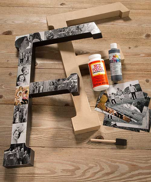 Take your favorite letter or character and add an extra bit of flare with Décor tape.