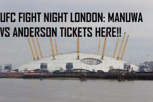 Want a ticket for UFC Fight Night London Manuwa vs Anderson? Well this is what you need -