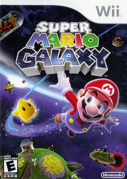 Super Mario Galaxy 1 & 2 - Robbie says he wants to incorporate these the next time we study space