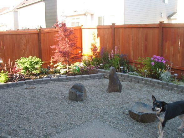 Solution To Dog Killing The Grass--pea Gravel