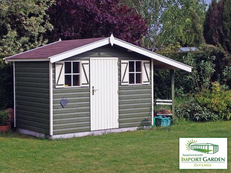 Conditions d'automne jusqu'au 17 octobre chez Import Garden. Choisissez votre abri de #jardin, classique, #cottage ou contemporain !