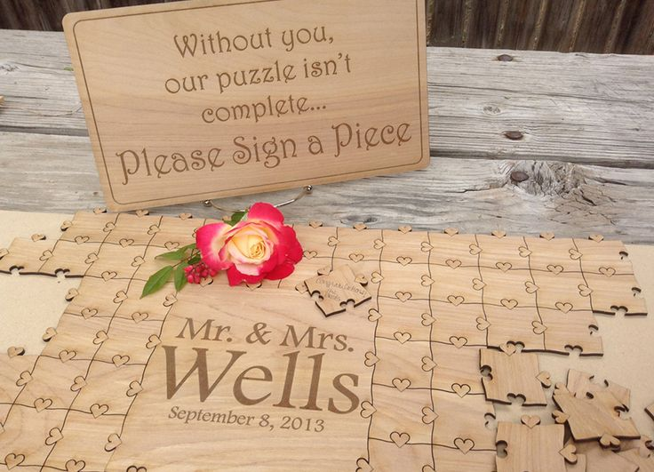Wedding Guestbook Ideas - Puzzle