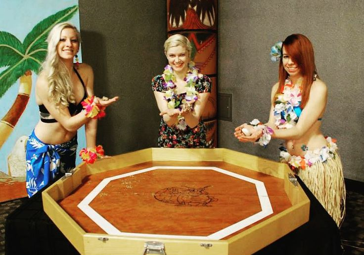 This winter's been so warm you would think we were somewhere tropical having hermit crab races.  #warm #winter #tropical #fun #races #holiday #vacation #december #circus #cincinnati #performer #cincinnaticircus #luau