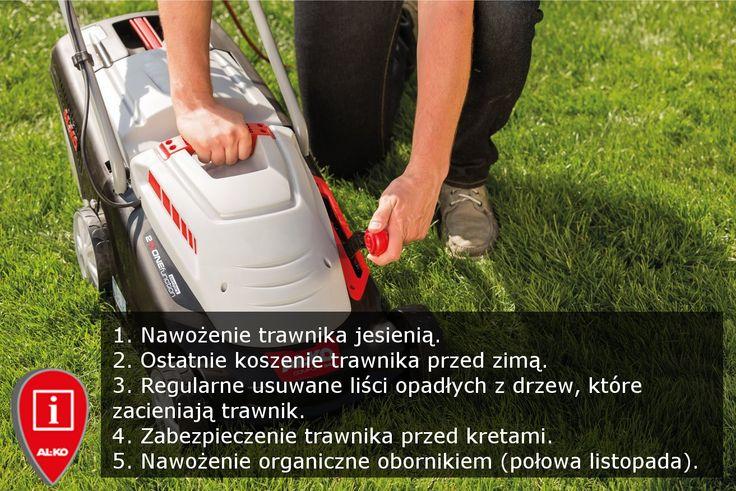 Oto 5 etapów przygotowanie trawnika do zimy. Które kroki macie już za sobą? http://www.al-ko.com/shop/pl/produkty/technika-i-piel.html #trawnik #garden #lawn