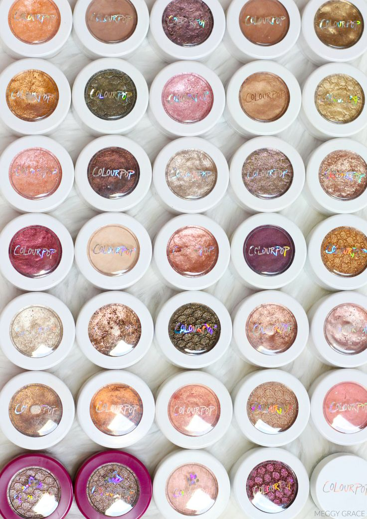 Pinterest: Emily Plumacher Colourpop Shadows - makeup products - http://amzn.to/2hcyKic