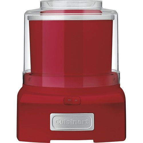 Prepare your favorite frozen treats in as little as 20 minutes with this Cuisinart automatic frozen yogurt, ice cream and sorbet maker that features a double-insulated freezer bowl with a 1-1/2-quart capacity for making large batches.