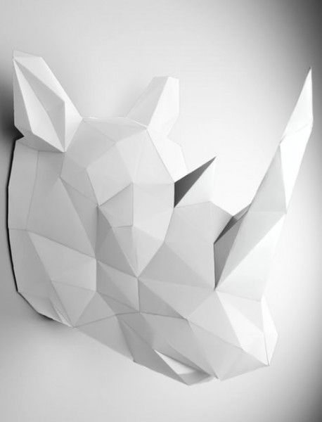 Design Papertrophy Wandtrophäen. Made in Berlin