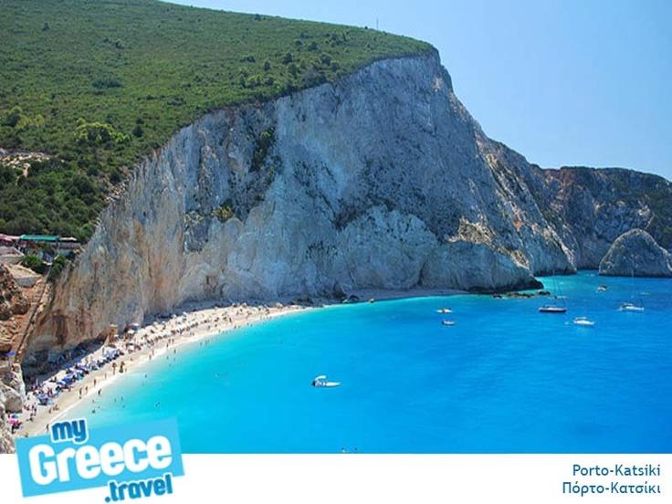 Porto Katsiki Beach in Lefkada by www.lefkada-tours.gr