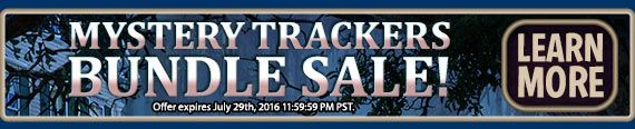 #mysterytrackers #bundlesale! Bundle #sale – Buy Mystery Trackers 11: Train to Hellswich Collector's Edition and get previous Mystery Trackers #games for $2.99 each! Use code TRACKERS at checkout. #offer valid July 28-29, 2016. http://wholovegames.com/hidden-object/mystery-trackers-11-train-to-hellswich-collectors-edition.html