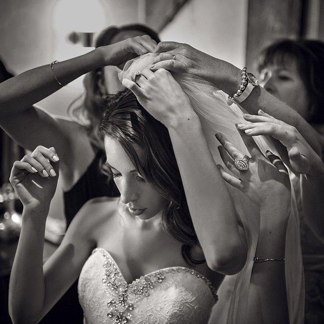 A beautiful moment from Laura and James' wedding at the Cambridge Mill  #wedding #gettingready #weddinginspiration #weddingphotog