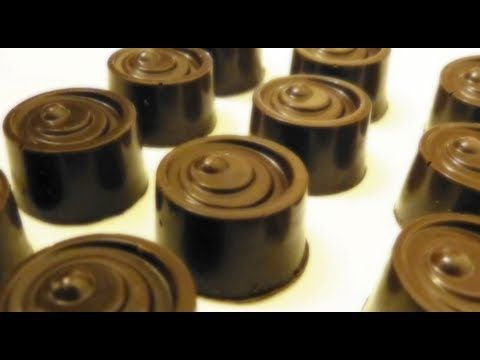 How to make Captain Morgan's Chocolate (Alcoholic Candy) - YouTube