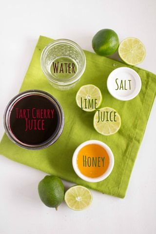 tart cherry sports drink ingredients