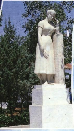 Nea Ionia, Greece. Statue of Mother.