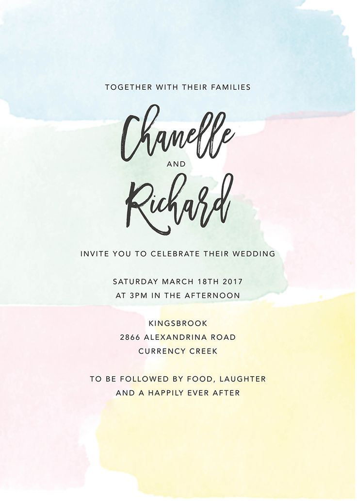 Best 25+ Pastel wedding invitations ideas on Pinterest | Pastel ...