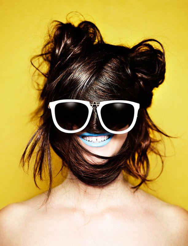 Rankin - Hunger Hair Portrait pq Eyewear
