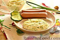 Фото к рецепту: Сырный соус (из плавленого сыра и молока)