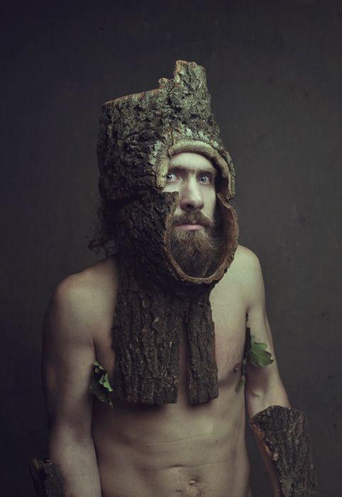Strange Portraits by Paweł Bajew