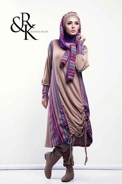 Hijab fashion winter 2015